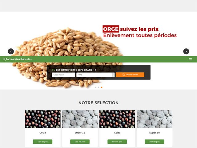 Biagri : Unique comparateur en transactions agricoles